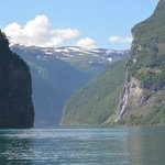 Sailing on the Fjord