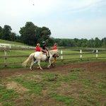 pony rides at Racine/K&K farm