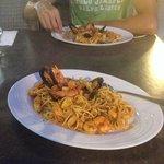 Spaghetti ai frutti di mare, buonissimi