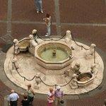 Bird's eye view to the Fontana Contarini
