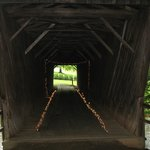 Inside Bob White Covered Bridge