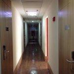 corredor terceiro andar