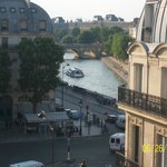 view of Seine from room 642