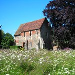 The Greyfriars Chapel And Wildflower Meadow