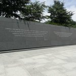 Wall of Martin Luther King, Jr. Memorial