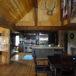 Inside the Lodge Kitchen area