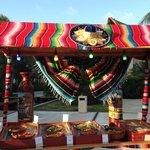 Mexican fiesta night - beautiful set up