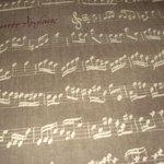 Musical motif, bedroom carpet