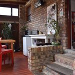 Patio area with Heater :+)