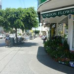 Gordnon Inn is next door to a wonderful flower shop!