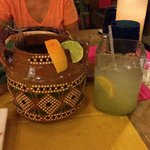 Large and really large margaritas