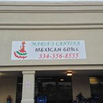 Maria's Cantina Mexican Grill entrance next to Winn Dixie