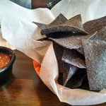 Blue Chips and Salsa