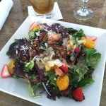 Great salad at Bungalow Restaurant