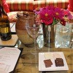 chocolate and wine tasting