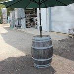 Repurposed Wine Barrell