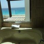 Vista desde el Jacuzzi de la habitación. (Loft Suite)