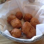Complimentary Hushpuppies