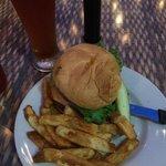 Burger and a Pilsner