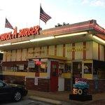 Chuck A Burger home of the crispy burger