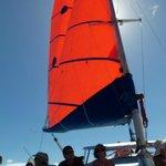 Sails unfurled