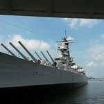 The incredible USS Wisconsin.