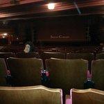 Teatro e palco da apresentação