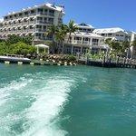 Hyatt Key West Resort from the sea