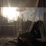 Sunrise from bed Rectangular 5