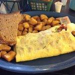 western omelette, yummy