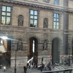 Da janela do Hotel de Louvre