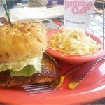 The Mahi Mahi Cajun style sandwich. Amazing!