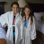 Robes in the penthouse rooms!