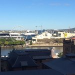 View across the Brisbane River from room 805