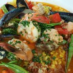 Paella at lunch
