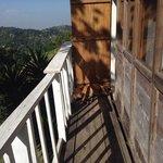 Roost cabin walkway