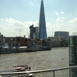 View from room at Cheval Three Quays
