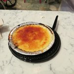 Creme brulee from Le Bulangerie in france pavillion, good way to spend a snack credit