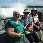 Marilyn,Shirley and Lyn at Niagara Falls.