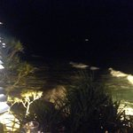 A night time view over Kata Noi surf from Mom Tri's Kitchen