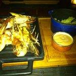 King...!!!!prawns at Tortuga...!!!! Amazing