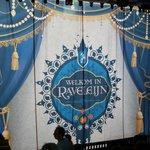 "Curtains up, before the ""Ravelijn"" - horsemen, Fire and Water show starts..."