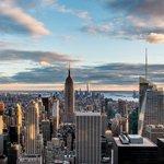 Manhattan from Rockerfeller Center