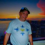 Selfie of me from the Columbia Center