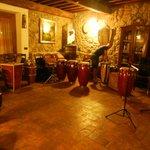 """La sala con i """"nostri"""" tamburi.."""