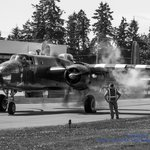 Historic Flight's B-25 Mitchell Starts Up