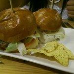 Mini hamburguesitas de ibérico