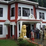 Front view of Hotel Suhim Portico,Gangtok