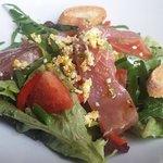 Salade Bio du marché comme une niçoise
