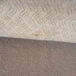 strange marks on seat